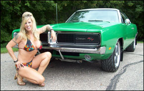 Electric Green 1969 Charger